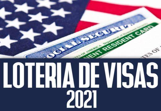loteria de visas 2021