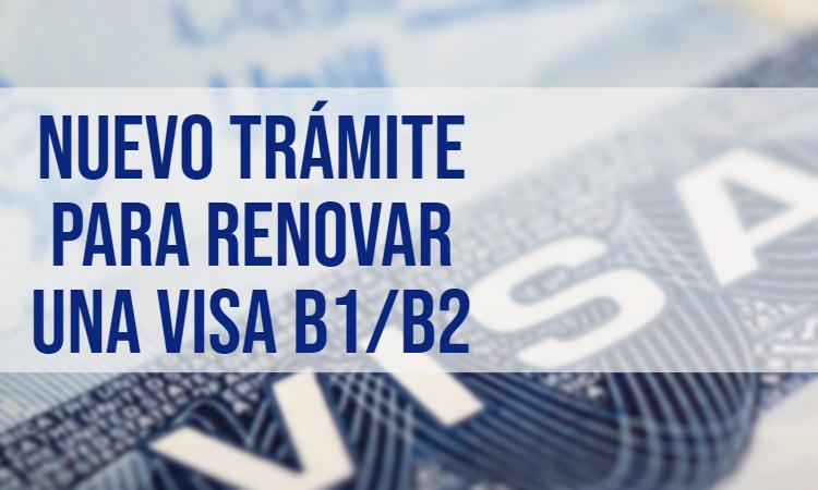 renovacion de visa americana 2020